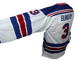 Custom Name # Spokane Flyers Retro Hockey Jersey New White Any Size image 3