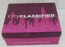 City Classified Layka S Black Sandal Wedge Heel Size 6 And Half image 8