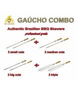 "Brazilian Skewers for BBQ 28"" -  Professional Grade - Set of 8 - Gaucho ... - $113.49"