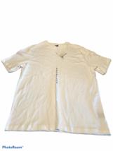 Croft & Barrow Men's Short Sleeve Extra Soft Shirt White Size Large Comf... - $9.45