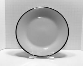 Noritake China Pilgrim Pattern #6981 Salad Lunch Plates White with Platinum Trim - $7.69
