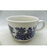 Churchill of England - Blue Willow - 1 large Coffee Mug - EUC - $5.94