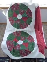 Fabric Panel Cut And Sew Christmas Memories Wreath Xmas Patchwork Cranston VIP - $16.00