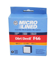 Dvc Royal Dirt Devil F66 Filtre Hepa - $7.47