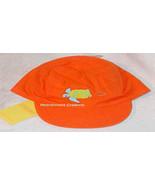 GYMBOREE Hat NEW Orange AT THE BEACH Layette NB 0 6 M 6m Sea Turtle - $8.00