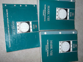 1998 Lincoln Mark VIII Service Shop Repair Workshop Manual Set FACTORY W... - $197.95