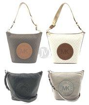 Michael Kors Fulton Sport Large Zip Bucket Messenger Bag - $120.99