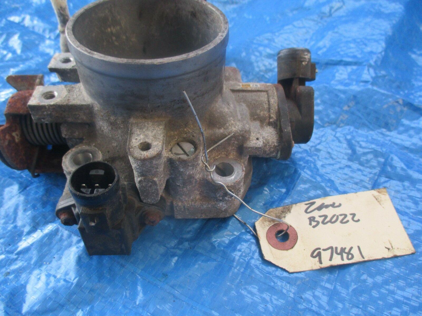 97-01 Honda CRV B20Z2 throttle body assembly OEM TPS sensor B20 engine motor