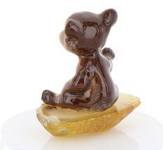 Hagen Renaker Miniature Baby Bear Cub Sitting on Base Stepping Stones #2762 image 5