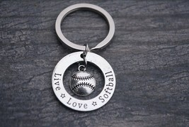 Softball Coach Keychain, Softball Jewelry, Perfect Softball Coach Gifts - €9,18 EUR