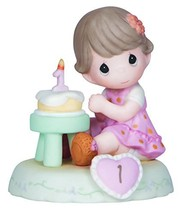 Precious Moments,  Growing In Grace, Age 1, Bisque Porcelain Figurine, B... - $36.75