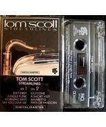 TOM SCOTT - Streamlines CASSETTE  - $6.83