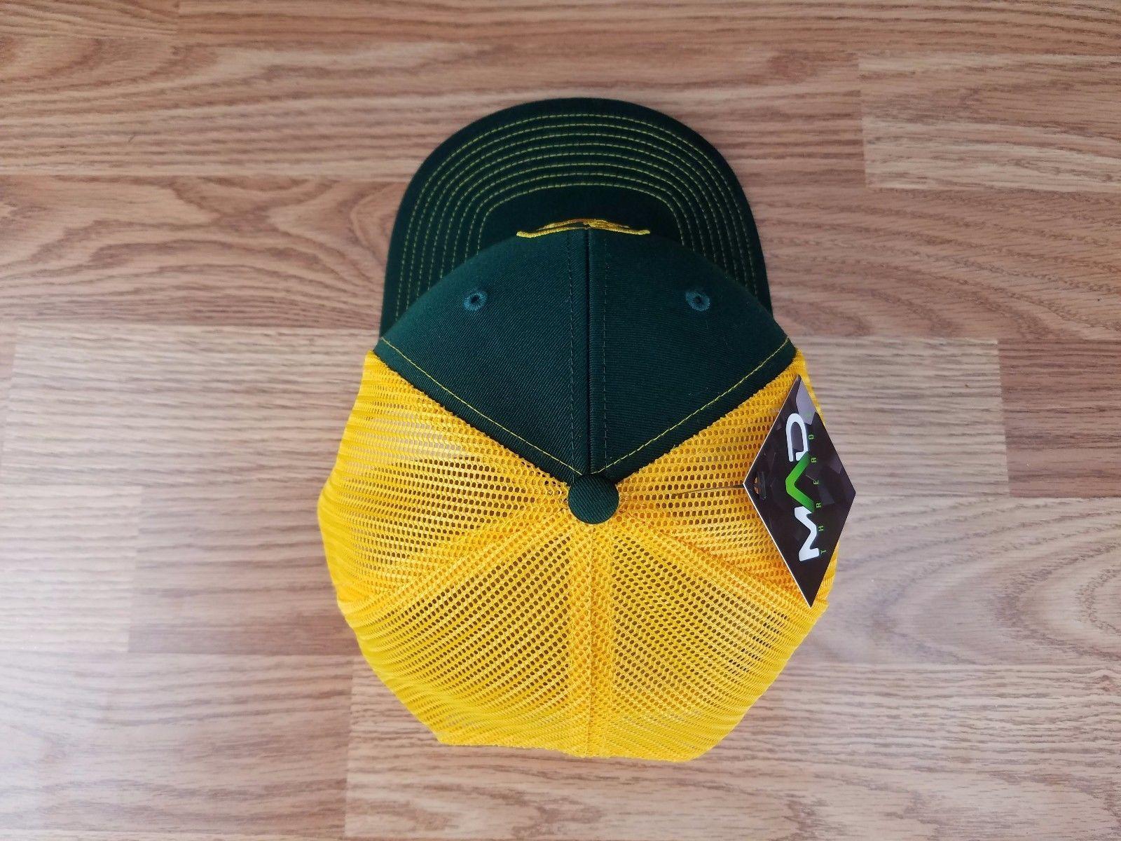John deere trucker hat, custom john deer, green, rancher, Richardson 112