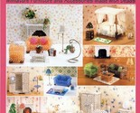 The Beaded Dollhouse Furniture Accessories Beads Pattern Book 30 Days to Pay! - $43.18