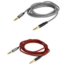 Replacement Audio nylon Cable For Panasonic RP-HD10E Philips Fidelio X1 ... - $9.89