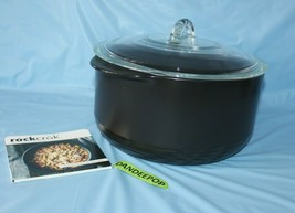 The Pampered Chef Rockcrok 8 Quart 7.6L XL Dutch Oven Covered Pot B16 Co... - $138.59