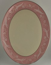 "Flintridge SNOW TULIP oval serving platter ( 16"" ) (SKU EC 113) FREE SHI... - $30.00"