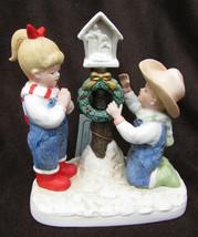 Denim Days 1519 A Child is Born  Debbie & Danny nativity scene HOMCO - $14.00