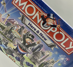 Monopoly Board Game HERE & NOW America Has Voted 2006 New Factory Sealed... - $37.04