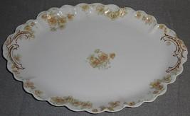"""Haviland Porcelain THE COUNTESS PATTERN Oval 14"""" Serving Platter LIMOGES... - $59.39"""