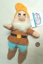 "Disney & theme park snow white dwarf 7 8"" items plush mini beanbag - $9.09"