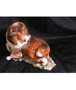 Hevener Collectible Dancing Collie Dog Figurine   - $100.00