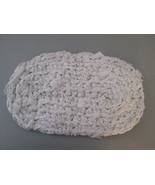 Rag Rug/Pot Holder Handmade with recycled clothing TP030/ALS - $10.93