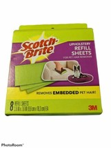Scotch Brite 7 Upholstery REFILL SHEETS for Pet Hair Fur Remover~Missing... - $24.19