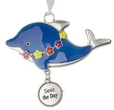 Gnz Life is a Breeze Inspirational Zinc Ornaments -Seas The Day - $7.43