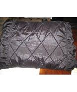 "Victoria Classics Pillows , Black , Set of 2  , 37"" X 21"" , King Sham - $49.41"