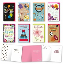 Assorted Family Birthday Cards Bulk Card Set of 8 Cards with Envelopes. ... - $14.67