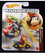 Hot Wheels Mariokart diecast Diddy Kong Pipe frame NEW - $8.56