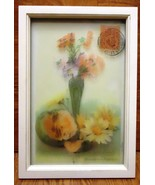 Generic Framed Art 14in x 9 1/2in x1in 60-57d * Glass Plastic - $19.32