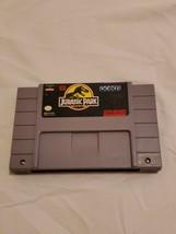 Jurassic Park (Super Nintendo/SNES, 1994) Authentic Nice Shape !! - $15.79