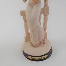Marlo Collection by Artmark Figurine of Victorian Lady Holding a Yellow Cat image 4