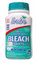 Evolve Original Scent Bleach Tablets (2, Linen Breeze) (2|Linen Breeze) - $8.55
