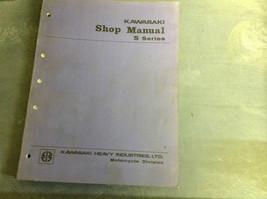 1972 Kawasaki S1 S2 Service Shop Repair Manual Factory 72 Dealership Book X - $197.97