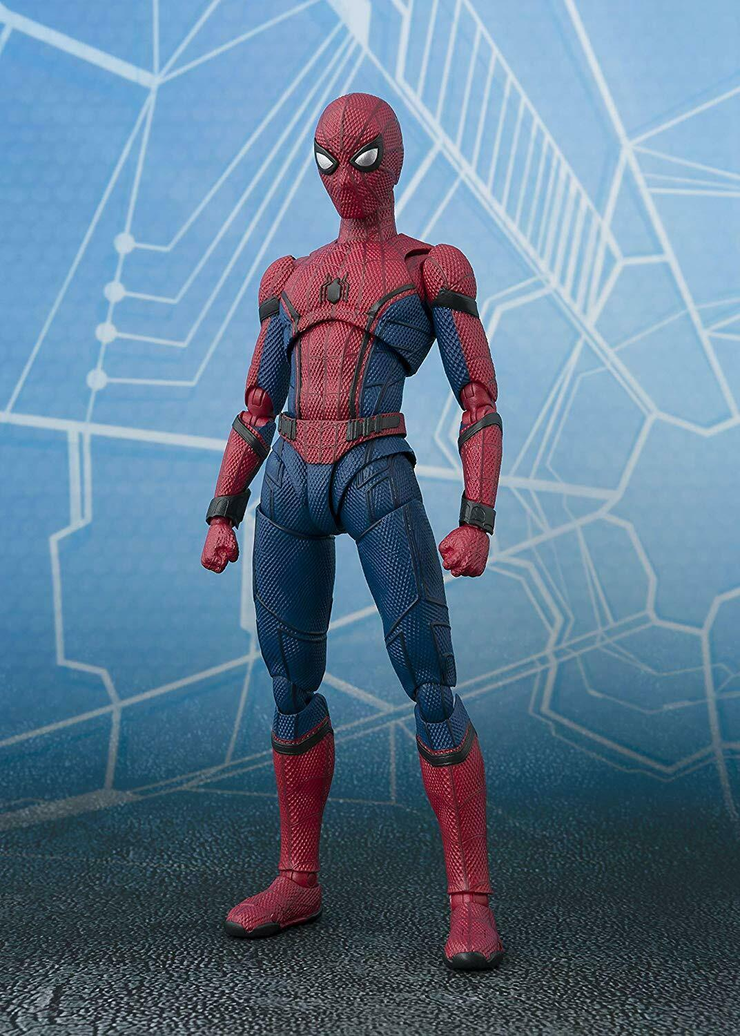 S.H.Figuarts Spider-Man Fur From Home Approximately ABS & PVC Action Figure