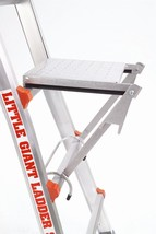 Little Giant Ladder Systems 10104 375-Pound Rated Work Platform Ladder A... - $44.29