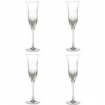 Waterford Carina Essence Champagne Flute 4 Four Flutes New In Box #147106 - $226.36