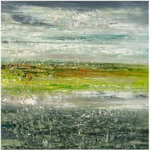 JOHN-RICHARD Oil Painting Jinlu's Landscape Jinlu Green - $1,759.00