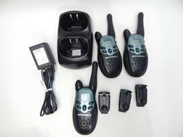 Motorola Talkabout Walkie Talkies 2 Way Radios 13km FRS T500 XLR 3 Handh... - $34.64