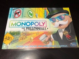 Monopoly for Millenials Hasbro Boardgame VHTF Factory Sealed New - $29.99
