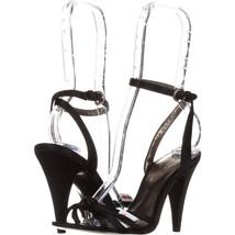 Coach Bethanie Ankle Strap Sandals 621, Black, 5 US / 35 EU - $42.23