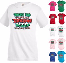 Italian Kid Looks like Funny T shirt Youth tee Baby Toddler bodysuit KP7 - $12.99