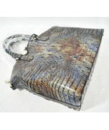 NWT Brahmin Large Duxbury Leather Satchel/Shoulder Bag Cedar Melbourne - $369.00