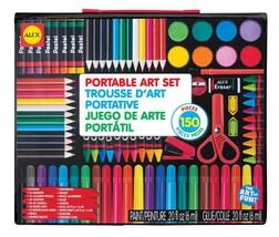 ALEX Toys Artist Studio Portable Art Set Arte colores niños lapices rega... - $24.75
