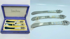 Vintage Neiman Marcus Cheese/Butter Spreading Knives Set Of 4 Pattern - $49.49