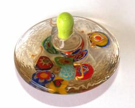 Murano Glass Handmade Dreidel Sevivon Hanukkah Judaica Italy Venice Murrina  image 2