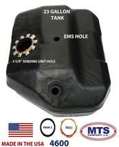 PLASTIC FUEL TANK MTS 4600 FITS 85-90 FORD BRONCO II 23 GAL. W/ EMS NO VENT PIPE image 2